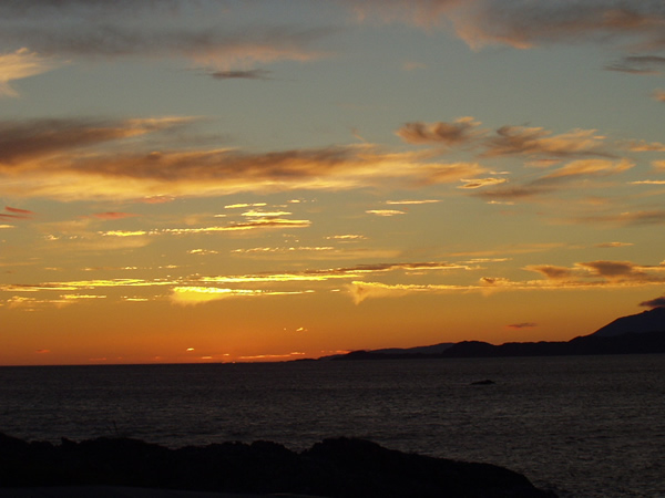 Sunset from Arisaig, 05