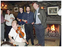 Enjoy a traditional Scottish evening after the tour